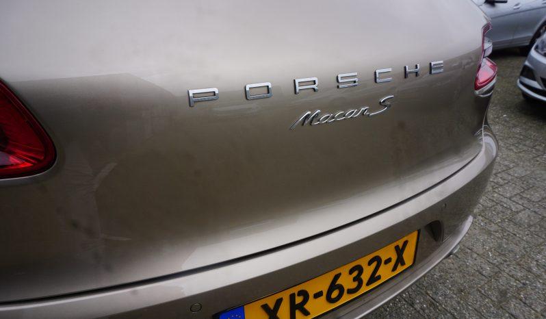 "Porsche Macan S Sptdesign pakket Luchtvering, Luxe interieur/Lak, 21""vel vol"