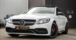 Mercedes-Benz C-klasse AMG 63s|510pk| Burmester|Panoramadak